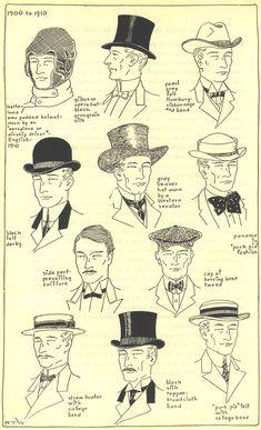 1900-1910 men