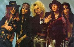 Faster Pussycat! They were one of the last entries into the L.A. Glam Metal scene. Still around (in a way) after numerous member rotations and style changes.