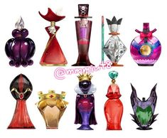 Disney Villains Perfume by ルビー・スパーク ///I would buy the shit out of some Ursula perfume///