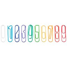 Number Paper Clips
