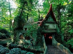 Lovely forest house in Efteling, Holland