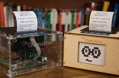The Choosatron is a fully hackable and Wi Fi enabled Choose Your Own Adventure style story printer