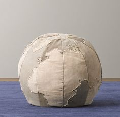 Love this!    Small World Ottoman | Playroom Accessories | Restoration Hardware Baby & Child