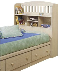 just a thought of a bed for the kids that will grow with them...saves a little bit of space too.