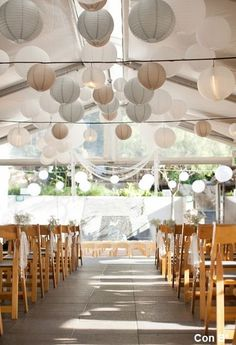 37 Ideas for wedding ceremony decorations outdoor paper lanterns Marquee Wedding, Tent Wedding, Wedding Ceremony, Dream Wedding, Uplighting Wedding, Wedding Receptions, Outdoor Ceremony, Hanging Lanterns, Paper Lanterns