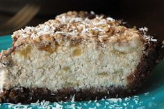 Coconut Banana Cheesecake Slice by art and lemons, via Flickr