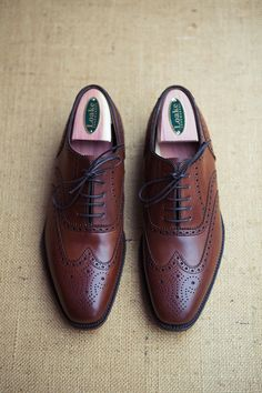 These shoes are so nice that after you put them on the rest of you will dress itself.  -  I need to see if this is true.
