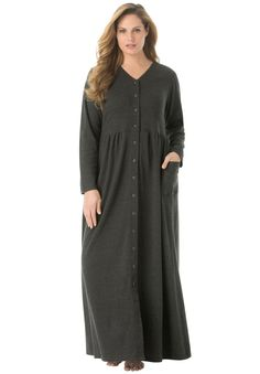 6b98cc54c868 Long Knit Lounger by Only Necessities®| Plus Size Sleep