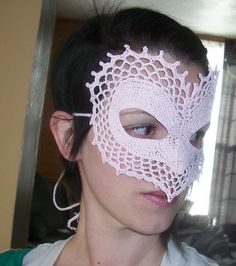 Ravelry: I Heart You Masquerade Mask pattern by Farrah for 365 Crochet