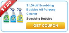 1.00 off Scrubbing Bubbles All Purpose Cleaner