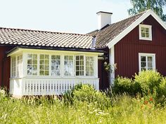 Sara Danielsson- Red Cottage, Sweden.