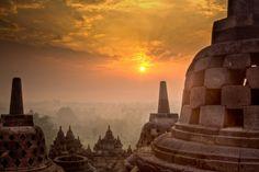 Borobudur, Jogjakarta, Indonesia