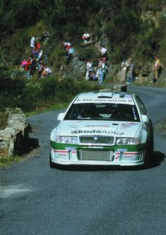 Skoda WRC. Product Development Manager, Auto Volkswagen, Poster Pictures, Rally Car, Mk1, Fast Cars, Touring, Cool Cars, Competition