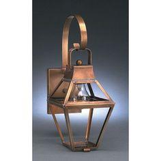 Northeast Lantern Uxbridge 2 Light Outdoor Wall Lantern Finish: Dark Brass, Shade Type: Frosted