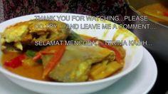 MALAYSIAN FISH CURRY  or  KARI IKAN MALAYSIA