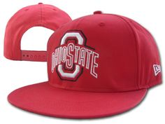 NCAA Ohio State Buckeyes Hat Caps All Red