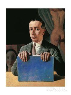 Portrait of Casella Felice Casorati