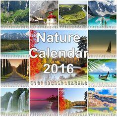 Fabulous Nature Calendar 2016 First Love, Calendar, Nature, Naturaleza, First Crush, Puppy Love, Life Planner, Nature Illustration, Off Grid