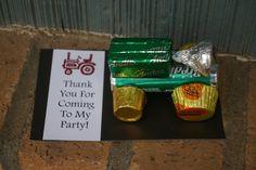 Tractors Birthday Party