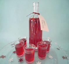 Cranberry Christmas Vodka