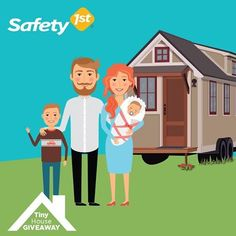 The tiny house movement is sweeping the nation! Enter to win your very own #Safety1stTinyHouse outfitted with Safety 1st products. Visit safety1stpromo.com to enter!