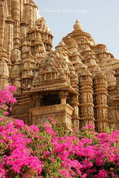 Travel Inspiration for India - The UNESCO World Heritage Monuments of Khajuraho, located in Madhya Pradesh, India, were built in AD by the Chandelas. The Hindu and Jain temples reliefs are considered to be the most Erotica art known as Karma Sutra. Khajuraho Temple, Hindu Temple, Hampi, Places Around The World, Around The Worlds, Places To Travel, Places To Visit, India Travel Guide, Amazing India