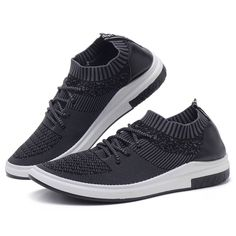 Men Breathable Knitted Fabirc Soft Casual Walking Shoes is fashionable and cheap, buy best sneakers for plantar fasciitis for family-NewChic. Hiking Dogs, Hiking Gear, Hiking Backpack, Hiking Trails, Best Sneakers, Adidas Sneakers, Sneakers For Plantar Fasciitis, Hiking Quotes, Happiness