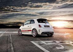 Fiat 595 Abarth 50th Anniversary (2014) sunset