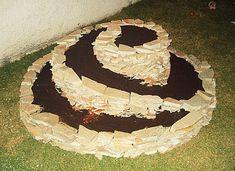 Horta Espiral com Pedras
