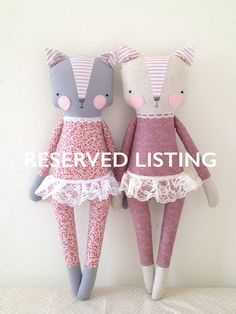 Reserved for Hayley luckyjuju kitty girl cat lovie от luckyjuju