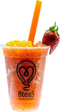 Strawberry Teaquiri Bubble Tea Menu 8tea5