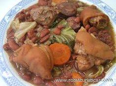 Feijoada à Transmontana, Receitas culinárias de Portugal - Rotas Turísticas