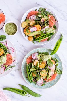 Hypoallergenic Pet Dog Food Items Diet Program Spring Awakening Glow Salad - Plant-Based, Vegan, Gluten Free, Refined Sugar Free Pinned To Nutrition Stripped Salad Healthy Food Blogs, Healthy Salads, Healthy Eating, Healthy Recipes, Power Salat, A Food, Good Food, The Fresh, Pasta Salad