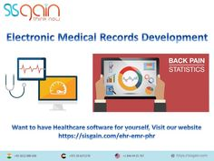 SISGAIN solutions for electronic medical records and tailor made solutions in customizing EMR, PHR & EHR modules for physicians, clinics and hospitals. Latest Technology, Clinic, Health Care, Software, Medical, Electronics, Website, Medicine, Med School