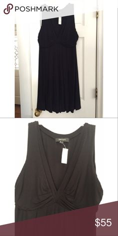 NWT Karen Kane Black Sleeveless V Neck dress sz L NWT feminine Karen Kane Black Sleeveless V Neck dress. Size Large Women's Retails: $88 This would make a great dress for any occasion, or for the holidays!  Please feel free to contact me with any questions you may have. Karen Kane Dresses