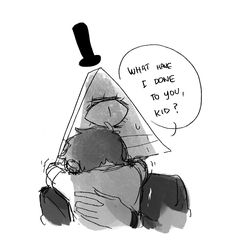 Anonymous said: It would be interesting to see a memory of bill in dipper's mindscape. Or something that changes bill's point of view on how dipper sees him.  You dun diddly do it now, Cipher. Part 14