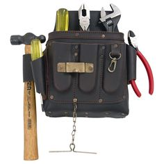 Visit The Home Depot to buy URREA 6 Piece Leather Pouch Set Of Various Tools - Industrial Wrench, Drivers, Ball Hammer & Pliers Tool Belt Pouch, Ratcheting Wrench Set, Impact Socket Set, Adjustable Wrench, Klein Tools, Leather Pouch, Fails, Industrial, Life