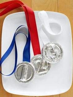 Set up a Winter Games in your household with these six, super fun indoor families perfect for the whole family! A bit of healthy competition and some medals made out of aluminum foil will get the whole family excited to participate in the winter challenge!