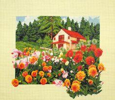Cod produs Valsul daliilor Culori: 29 Dimensiune: 33 x Pret: lei Floral Wreath, Cross Stitch, Wreaths, Embroidery, Painting, Decor, Romania, Waltz Dance, Floral Crown