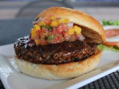 Each burger at 5 Star Burger in New Mexico is served on a brioche bun from local Fano bakery, and the hormone- and antibiotic-free Black Ang...