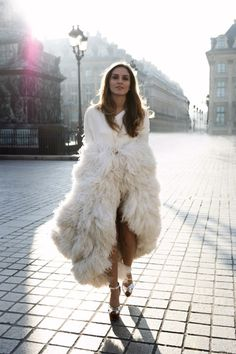 White and feathered