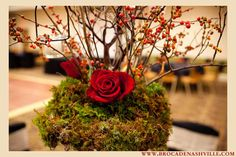A Fall Wedding: Rust and Burgundy   Brocade DesignsBrocade Designs