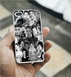 Cameron Dallas collage iPhone 5C caseiPhone 5S by kampungan14, $14.98
