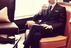 MR PORTER | Sterling Work, Mad Men Inspired Looks - #editorial #fashion curated by #pepevillaverde @pepevillaverde