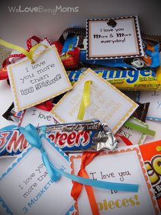 #Candy Bar Printables
