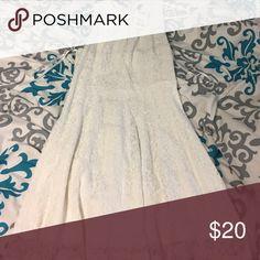 White Dress Never worn with tax Dresses Midi