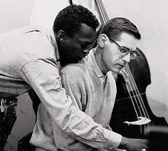 "Miles Davis and Bill Evans during ""Kind of Blue"""