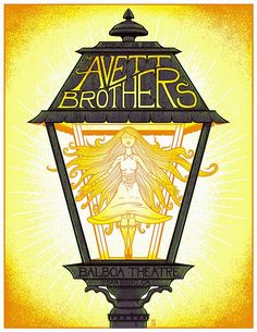 Jim Mazza Avett Brothers & Erich Church Posters Release Details