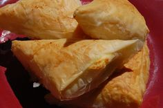 """Phyllo Cheese Triangles – """"Tiropetes"""""""