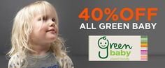 40% Discount on all Nature Baby item
